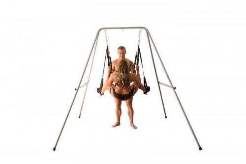 Sex Swing stand with a swing